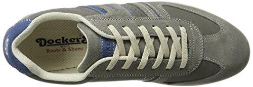 Dockers by Gerli 34sa801-201206, Zapatillas para Hombre Gris (Grau/blau)
