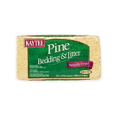 Kaytee Pet 100032043 Pine Animal Bedding, 1,200-Cu. In.