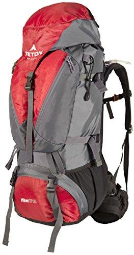 TETON Sports Rucksack Hiker 3700, Rot, 83 x 39 x 31 cm, 60 Liter, 54010056