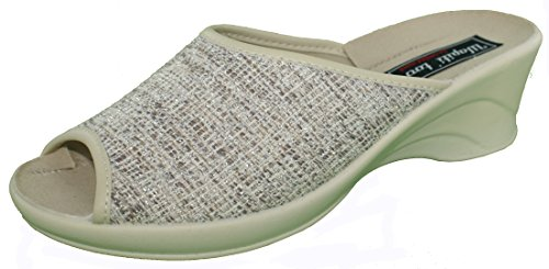Wapiti'too Women's Clogs & Mules Beige m5NYYSFC