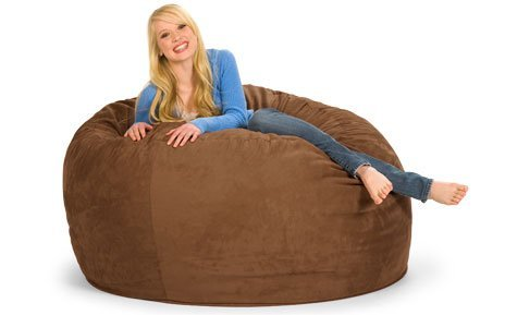 - 5' Round Relax Sack-Microsuede Earth COVER ONLY - Does not include filling.