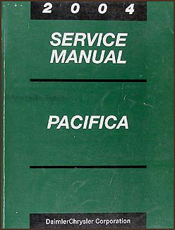 2004 chrysler pacifica repair shop manual original chrysler amazon rh amazon com 2004 Chrysler Pacifica Dash 2004 chrysler pacifica service manual pdf