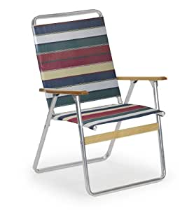 Telescope Casual Original Highback Folding Beach Arm Chair, Spencer