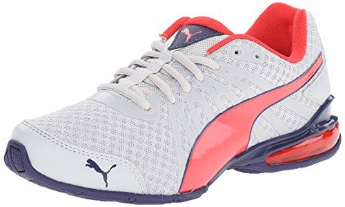 PUMA Nu 10 Cell JR Sneaker (Infant/Toddler/Little Kid/Big Kid) , Gray Violet/Cayenne/Astral Aura, 12.5 M US Little - S Astral