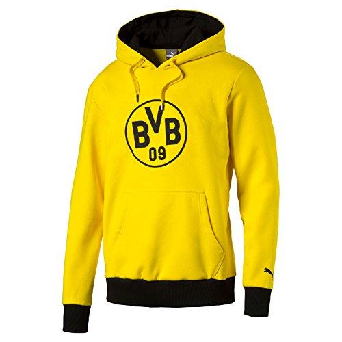 2016-2017 Borussia Dortmund Puma Badge Hoody (Yellow)