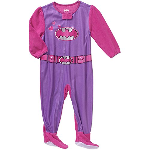DC Comics Batgirl Baby Girls Footed Blanket Pajamas (9 Months) (2)