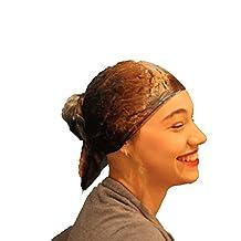 women Head covering Jewish Judaica Woman Tichel Hair Snood Bandana Velvet Pretty