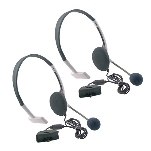 Dcolor 2 NEW Live Headset + MIC Compatible with XBOX 360 Wireless Controller