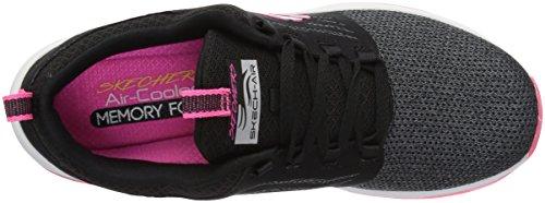 Black Hot Skechers Deluxe Air Skech Sneaker Pink Women's qYHHZvwxX