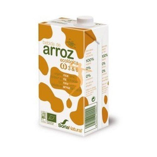 Bebida de Arroz y Quinoa Bio 3 unidades de 1 litro de Alecosor - Soria Natural: Amazon.es: Alimentación y bebidas