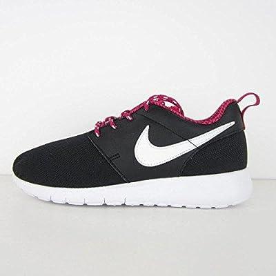 Nike Youth Roshe One (Black/Gamma Blue/Pink Blast)(7 M US Big Kid)
