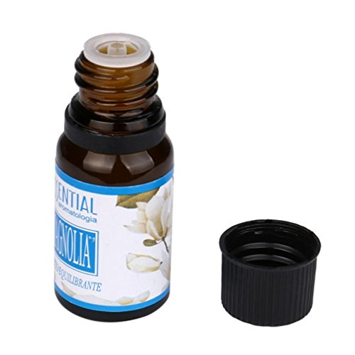 Essential Oils, jinjiu 10ML Pure & Natural Essential Oils Aromatherapy Stress Relief Scented Massage and Body Oils (Magnolia)