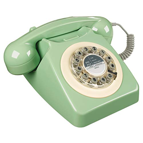 Rotary Design Retro Landline Phone for Home ()