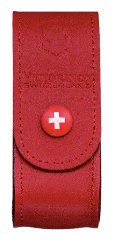 Victorinox Zubehör Gürteletui Leder rot, 4.0520.1