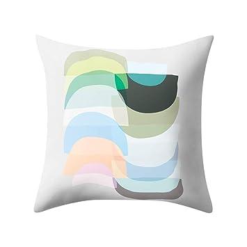 Lywey 2019 Fashion Geometric polyester pillowcase Cushion Cover Square Pillowcase Home Decoratio