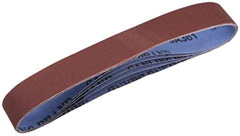 1.2 inch X 21 inch sanding belts 240 pcs aluminum oxide sand belts 5pcs