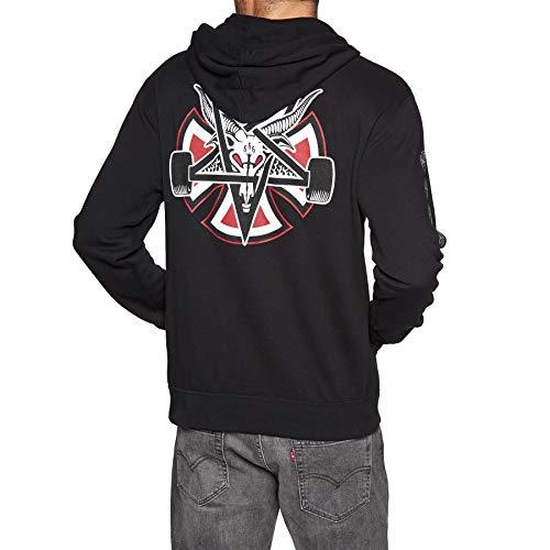 rasher Pentagram Cross Hoody,Medium,Black ()