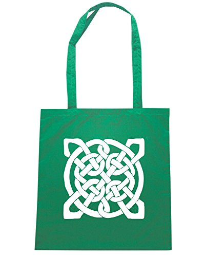 T-Shirtshock - Bolsa para la compra FUN0369 611 celtic knots decal 1 76413 Verde