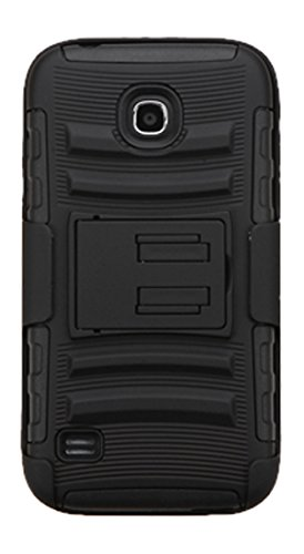 Asmyna Advanced Armor Case for Huawei Y538 (Union) - Retail Packaging - Black