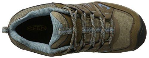 Keen Oakridge Wp, Women's Low Rise Hiking Shoes Braun (Shitake/Stone Blue)