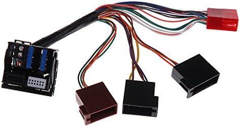 車 フォルクスワーゲンオーディナビゲーション用 操作簡単 新しい ISO配線 MINI オーディオアダプター プラグアンドプレイ