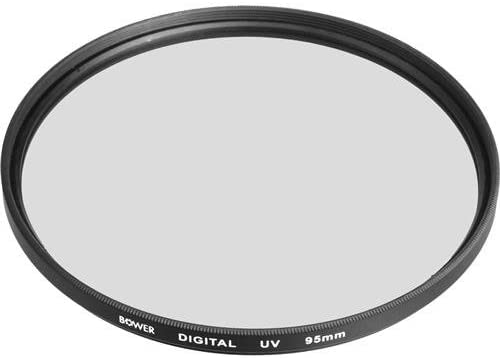Adorama 95mm UV Haze Filter Ultra Violet Designed for Bower 500mm 6.3 T-Mount Type Lens