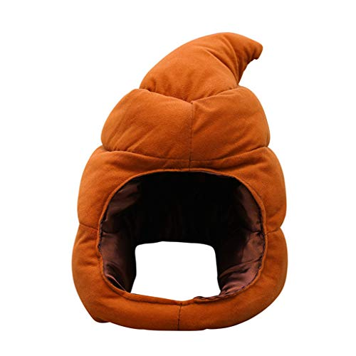 FIged Kids Toys, Shiba Inu Plush Stuffed Soft Pillow Doll Cartoon Poop Hat Cute Shiba Soft Toy