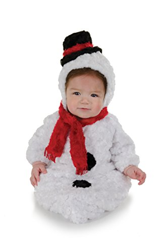 Underwraps Baby's Snowman Bunting Belly, White/Red/Black, Infant for $<!--$18.32-->