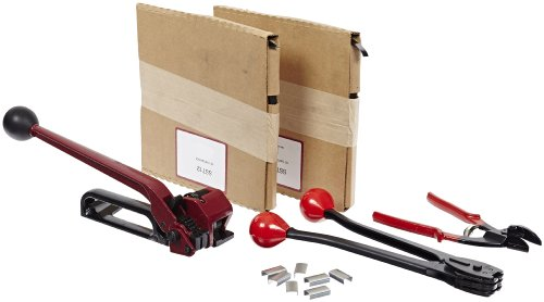 Nifty Products SSK48 505 Piece Portable Steel Strapping Kit, 200' Length x 1/2'' Width Coil by NIFTY