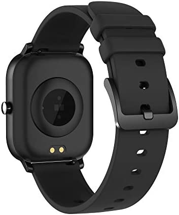 AMATAGE Smart Watch for Android Phones iPhone for Men Women, Fitness Tracker Watch with Heart Rate Monitor , Waterproof Activity Tracker with Sleep Monitor(Black) 41zlF6oP0ML