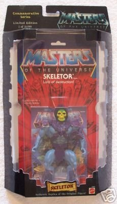 Masters of the Universe - Skeletor Figure - Commemorative Series - Limited Edition - 1 of 15,000 - Mattel - RARE - Collectible - (E)