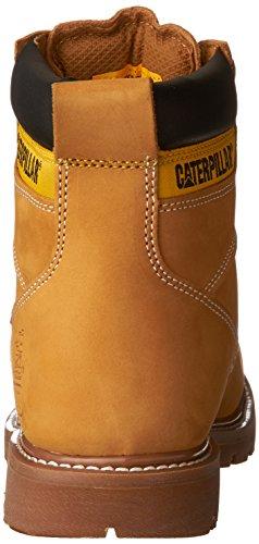 Caterpillar Men's Second Shift Steel Toe Work Boot,Honey,10.5 M US