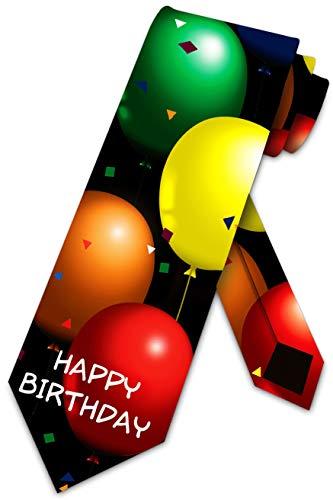 Birthday Ties Balloons Neckties Happy Birthday by Three Rooker