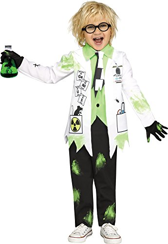Fun World Mad Evil Scientist Costume for Toddlers