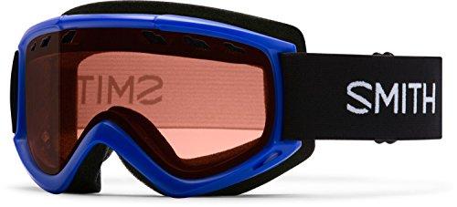 Smith Optics Cascade Adult Airflow Series Snocross Snowmobile Goggles Eyewear - Cobalt/RC36 / Medium ()