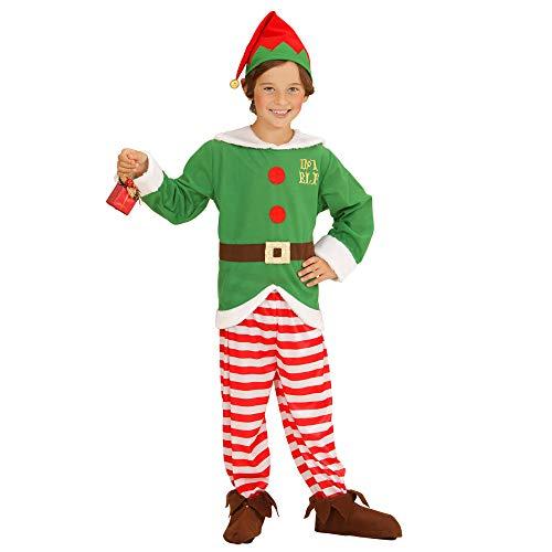 widmann 00007?Santa's Little Helper Costume?Tunic, Trousers, Hat, Size: 140 ()
