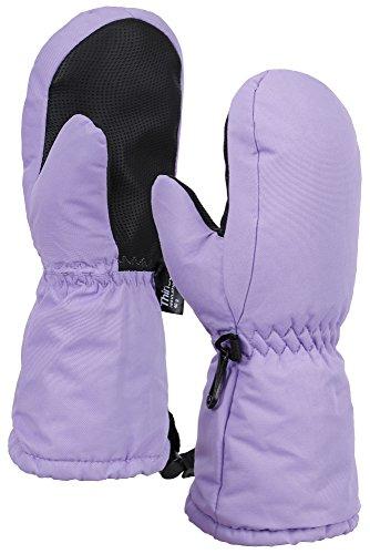 ThunderCloud Kids Boys&Girls Waterproof Wind Resistant Winter Ski Mitten Gloves