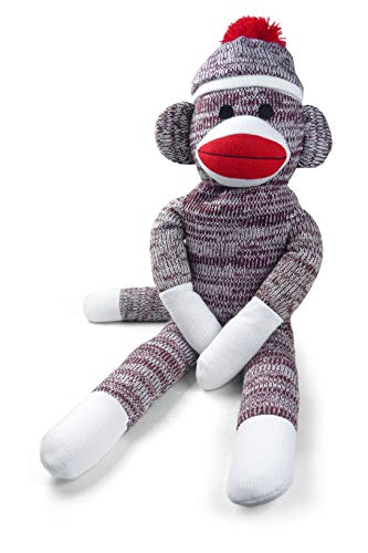 (Pennington Bear Company The Original Sock Monkey, Hand-Knit, Plush Material, 20