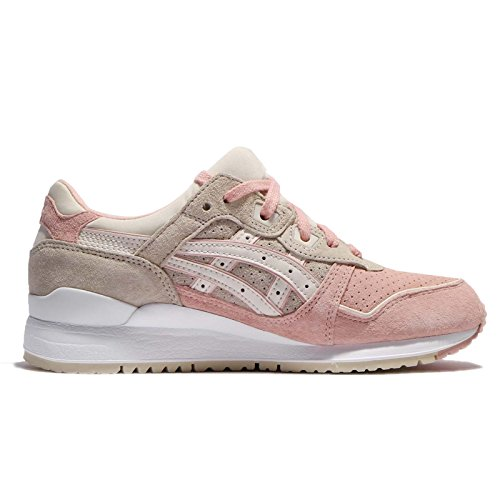 ASICS Women's Gel-Lyte III, Feather Grey/Birch, 24.5 cm