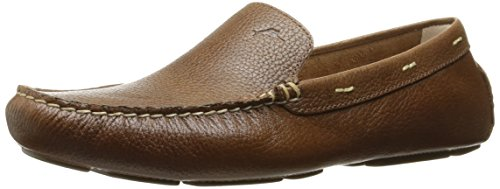 Driver Moc Loafers Shoes - Tommy Bahama Men's PAGOTA Wide Driving Style Loafer, COCCOA, 11 W US