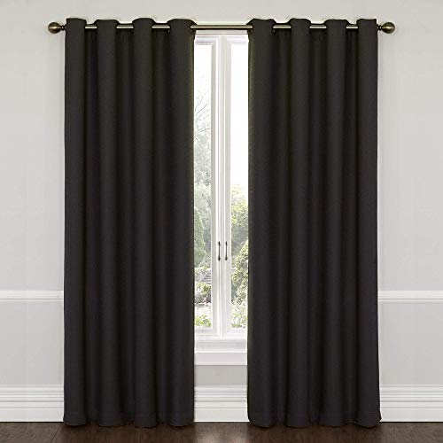 (ECLIPSE Blackout Curtains for Bedroom - Wyndham 52