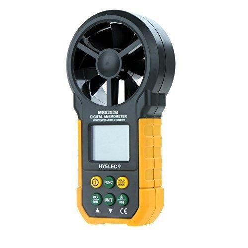 Digital Anemometer Wind Speed Air Volume Measurement USB ...