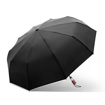 NING567 Paraguas Plegable automático Dual-Purpose////MS/Paraguas Doble Macho