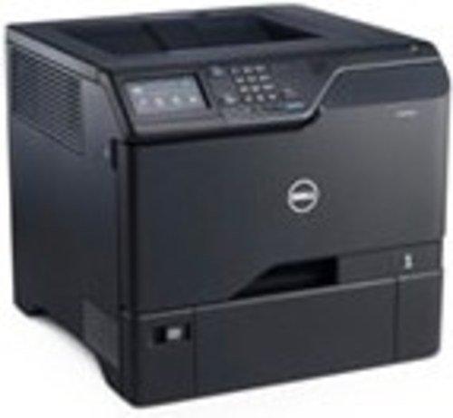Dell S5840CDN Smart Color Laser Printer - 50 ppm - 1200 dpi - 650 Sheets - Wired - Black (Certified Refurbished)