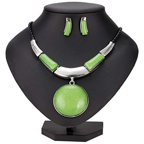 Kikole Women Necklace Earrings Jewelry Sets Necklace and Earring Set for Women Turquoise Jewelry