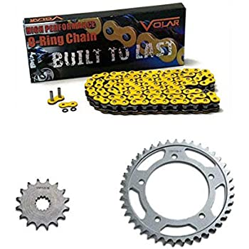 Yellow O-Ring Chain and Sprocket Kit for Yamaha YZF-R1 YZFR1 1998 1999 2000 2001 2002 2003