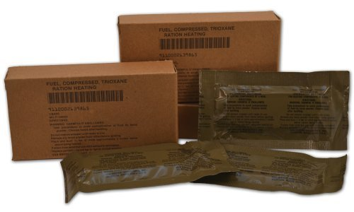 (U.S. Military Fire Starter Trioxane Fuel Bars)