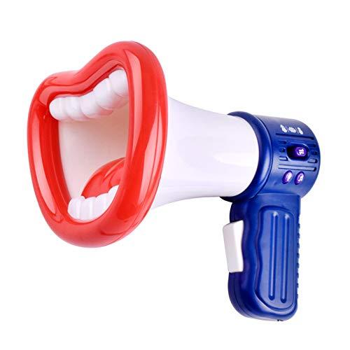 funci/ón de meg/áfono Multi Voice Changer con Diferentes modificadores de Voz para ni/ños y ni/ñas XINJIA Funny Kids Voice Changer Toy Recording Toy Micr/ófono Juguetes