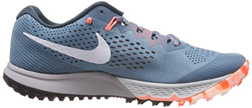Nike W Air Zoom Terra Kiger 4, Chaussures de Running Femme Bleu (Aqua Bruit/Jungle Profonde/Cramoisi Impulsion/Blanc 401)
