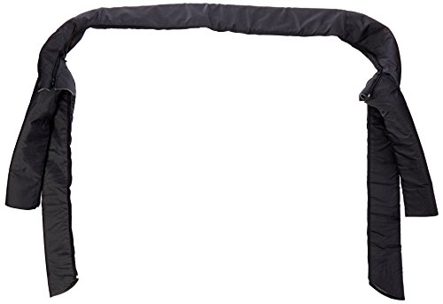 Rugged Ridge 13610.15 Black Denim Roll Bar Cover Kit for Jeep CJ and 87-91 Wrangler YJ